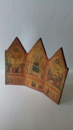 Hand made triptych