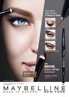 Maybelline - dakota collection in 2019 Beauty Ad, Beauty Shots, 00's Makeup, Beauty Makeup, Mascara, Eyeliner, Claire's Accessories, Make Up Tricks, Makeup