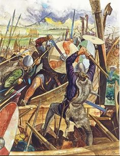 Jan. 8, 871, Alfred the great led the army of his brother (Ethelred of Wessex) against the invading Danes in the Battle of Ashdown. Alfred and the Anglo-Saxons won, although losses were heavy on both sides.