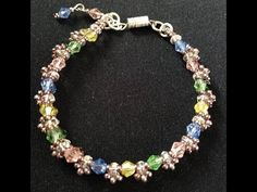 How to Make a Butterfly Bead Bracelet - YouTube
