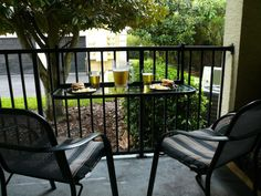 Compact ideas for small balcony designs