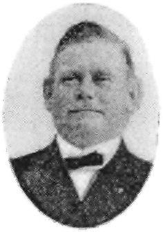 Johannes Petersen, f. 1883, Karens første ejer, illustration i Wittes af Henrik Bang bearbejdede manuskript i Langebæk arkiv, stammer fra Dansk Fiskeristat, bd. 2, 1936.