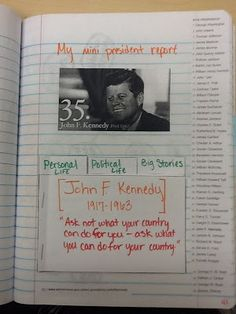 Social Studies Ideas for Elementary Teachers: Presidents!