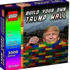 Does Mexico have to pay for this too? #trumpsucks Really Funny Memes, Stupid Funny Memes, Funny Humor, Trump Wall, Dankest Memes, Lego Memes, Meme Meme, I Laughed, Funny Pictures