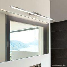 GROSSMANN Forte: Mit Der LED Badezimmerleuchte Für Ihren Spiegel Erhalten  Sie Licht Dort, Wo Sie Es Brauchen. Horizontal über Dem Spiegel Oder Auch  Einem ...