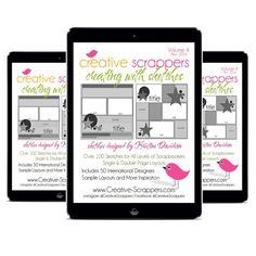 NEW Creating With Sketches V4  eBook by CreativeScrappers on Etsy