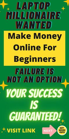 Looking to make money online from home, even as a beginner? We can help you make residual income for life and never worry about money again, GUARANTEED! This opportunity only comes once in our lifetime. Visit the link now for informtion. #MakeMoneyOnlineForBeginners #MakeMoneyOnline #MakeMoneyOnlineFromHome #MakeMoneyOnlinePassiveIncome #MakeResidualIncome #HowToMakeResidualIncome #WaysToMakeResidualIncome #HowToMakeResidualIncomeFromHome #ResidualIncomeIdeasMakeMoney