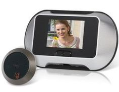 "Wisedeal 2.8"" Screen Door Peephole Viewer with Microphone, Night Vision, Record, TF Card Reader (Silver) Includes a camera and a LCD screen viewer by Wisedeal. $84.79. Highlights  Includes a camera and a LCD screen viewer LCD screen display clearer outdoor image for added convenience and safety Microphone allows you to talk with anyone outdoor You can know who visited your home when you are outdoor via the record function Super great night vision function Supports TF card With..."