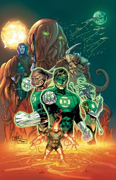 Green Lantern Corps by Billy Tan