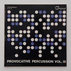 Josef Albers album cover: Provocative Percussion Vol. III