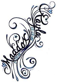 """Kayle & Maddox"" Fillagree Swirls by Tara Lee Grady at Coroflot More"