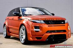 Vesuvius Orange Range Rover Evoque by Ultimate Auto – automotive99.com