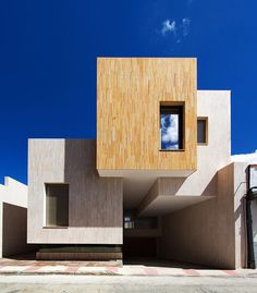 House R Mora Spain 2016 design by OOIIO Architecture more at www.archilovers.com via archilovers- architecture, daily