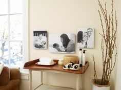 Did you welcome a baby into the family this winter? Display those photos on Shutterfly canvases for the springtime.