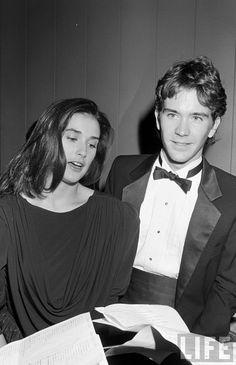 Demi Moore and Timothy Hutton. #VintageCouple