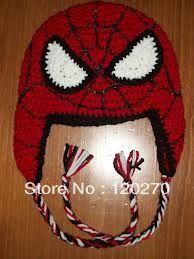 Free Shipping Children's Monster Hat Newborn Toddler Crochet Alien Hat Animal Pattern Baby Boys Knit Beanies Earflaps Xmas Gifts