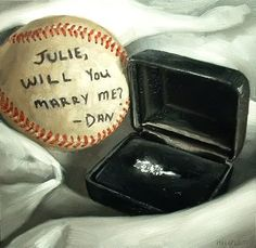 Take Me Out to the Ball Game: 5 Baseball Inspired Proposal Ideas - Engagement 101