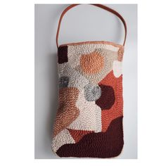 Just posted some hooked bags 👆👆👆 and cushions to my Etsy shop. Cardboard Crafts, Yarn Crafts, Beginning Embroidery, Rug Hooking Kits, Thread Art, Embroidery Hoop Art, Punch Needle, Textile Design, Fiber Art