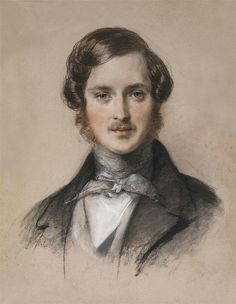 Prince Albert, by Charles Brocky 1841-Gorgeous! No wonder Victoria mourned him for 40 years.