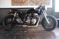 Honda CB750 1974 Cafe Racer Project 01