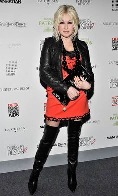 Cyndi Lauper turns 60 on June but the rock legend clearly isn't slowing down any time Cindy Lauper 80s, Cyndi Lauper, Hip Pop, Leather Dresses, Celebs, Celebrities, Business Women, Style Icons, Cool Girl