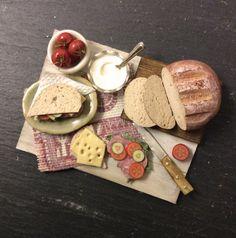 ♡ ♡ Dolls House Miniature Making Sandwiches Set por Artistique