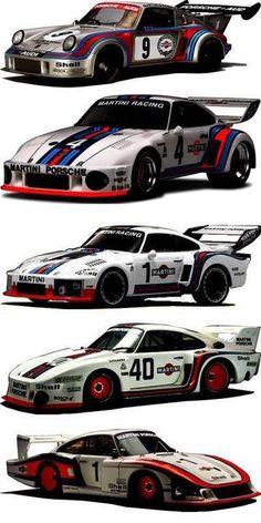"Porsche Turbo RSR 1974, 935/76?, 935/76, 935/77, 935/78 ""Moby Dick"""