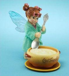 My Little Kitchen Fairies Oatmeal Fairie - http://cutefigurines.net/my-little-kitchen-fairies/my-little-kitchen-fairies-oatmeal-fairie/
