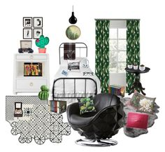 """""""Room of Eden"""" by simpleautumn ❤ liked on Polyvore featuring interior, interiors, interior design, home, home decor, interior decorating, Pendleton, Eichholtz, Lexington and Mineheart"""