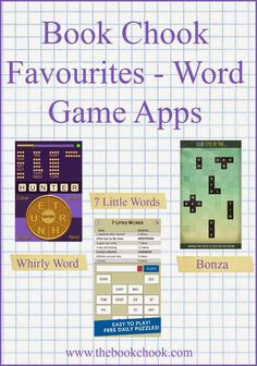 The Book Chook: Book Chook Favourites - Word Game Apps