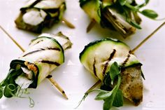 Stuffed Courgette Rolls - Sacla Italian Recipes - for creating your own…