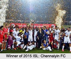 The final match was played between Goa and Chennayin on 20th December 2015 at the Fatorda Stadium in Goa. Chennayin were crowned as champions defeating Goa 3-2. For more visit the page. #football #indiansports #indiansuperleague