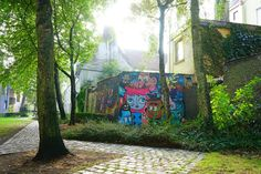 Street art a gand #visitgent gent ghent belgium europe travel streetart graffiti