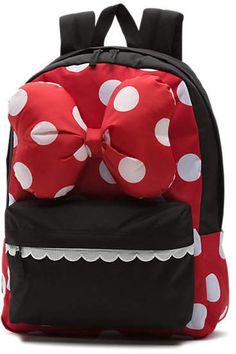 Disney x Vans Minnie Mouse Realm Backpack Vans Backpack 63857843843