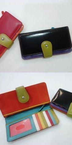 Billeteras de cuero #estilos #colors #ParkAvenueGlamsUpYourStyle