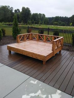 Oak Creek, Perfectly Imperfect, Garden Bridge, Wisconsin, Deck, Woodworking, Outdoor Structures, Outdoor Decor, Pictures