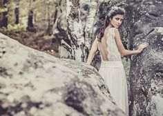 LAURE DE SAGAZANS 2013 BRIDAL COLLECTION | #bridal #wedding #gown #boho #bohemian  Via: http://fashioncherry.co/laure-de-sagazans-2013-bridal-collection/#