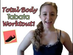 Total Body, Equipment-free Tabata Workout!