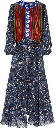 ShopStyle: Duro Olowu Printed silk dress