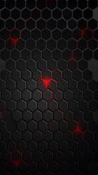 Hexagon Red n Black