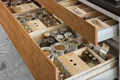 Allmilmo Inserts: Kitchen Storage & Organization – Wood Tec Maple Contemporary Kitchen Draw Inserts Design Ideas Insert26