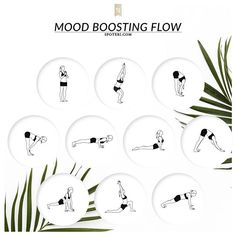 Beat stress and get happy with these mood-boosting yoga poses. A 16 minute essential flow to help you shake off any anxiety or frustration, and create a more stable sense of calm. http://www.spotebi.com/yoga-sequences/mood-boosting/ @Spotebi #Yoga #Flow #Fitness #Healthy #Happy #Fit