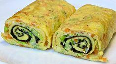 Best Egg Roll Omelette-Tamagoyaki-Japanese Omelette roll-Kitchen Basics - YouTube