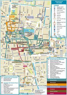 Innsbruck city center map Maps Pinterest Innsbruck City and