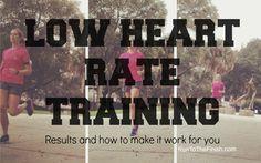 Maffetone Method - Low Heart Rate Marathon Plan ~ Runner training for life