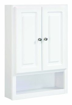 Design House 531319 30-Inch by 21-Inch Concord Ready-To-Assemble 2 Door with Shelf Wall Bathroom Cabinet, White Design House,http://www.amazon.com/dp/B003VP5ROA/ref=cm_sw_r_pi_dp_MRC5sb0MRSXY27X7