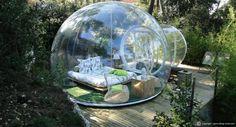 Schlafen unterm Sternenhimmel: Übernachtung in einer Bubble schon für 69€ inkl. Frühstück & Teleskop mit Sternenkarte