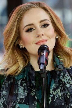 Adele on the 'Today' show in 2015. http://beautyeditor.ca/2016/02/13/adele-before-and-after