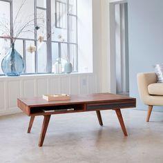 Table basse en bois de palissandre 115x60 Niels TIKAMOON