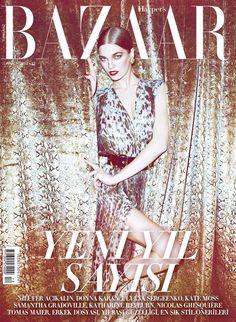 Samantha Gradoville, Harper's Bazaar Magazine [Turkey] (December 2012)